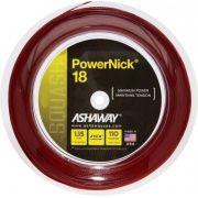 Rolo De Corda De Squash Ashaway Powernick 18 1.15mm com 110 Metros