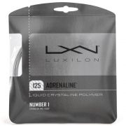 Corda Luxilon Adrenaline 16L 1.25mm Rough Cinza - Set Individual