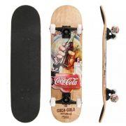 Skate Coca -Cola Coke Cinza