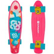 Skate Mini Cruiser Bob Burnquist - Rosa