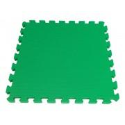 Tatame em Eva 1x1m - 19 mm de Espessura com 1 Encaixe - Verde/Limão