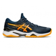 Tênis Asics Court FF 2 Clay Masculino - French Blue/Amber