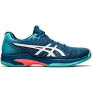 Tênis Asics Gel Solution Speed FF Clay Verde e Azul