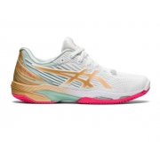 Tênis Asics Solution Speed FF 2 Clay L.E. - White/Champagne