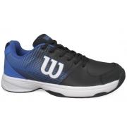 Tenis Wilson Ace Plus M Preto e Azul WRB01164
