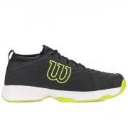 Tênis Wilson Pro Open - Preto/Verde Neon