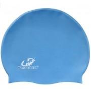 Touca de Natação de Silicone Hammerhead Junior - Azul Celeste