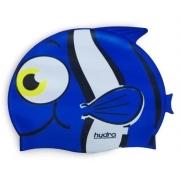 Touca de Natação Silicone Hydro Infantil  - Azul