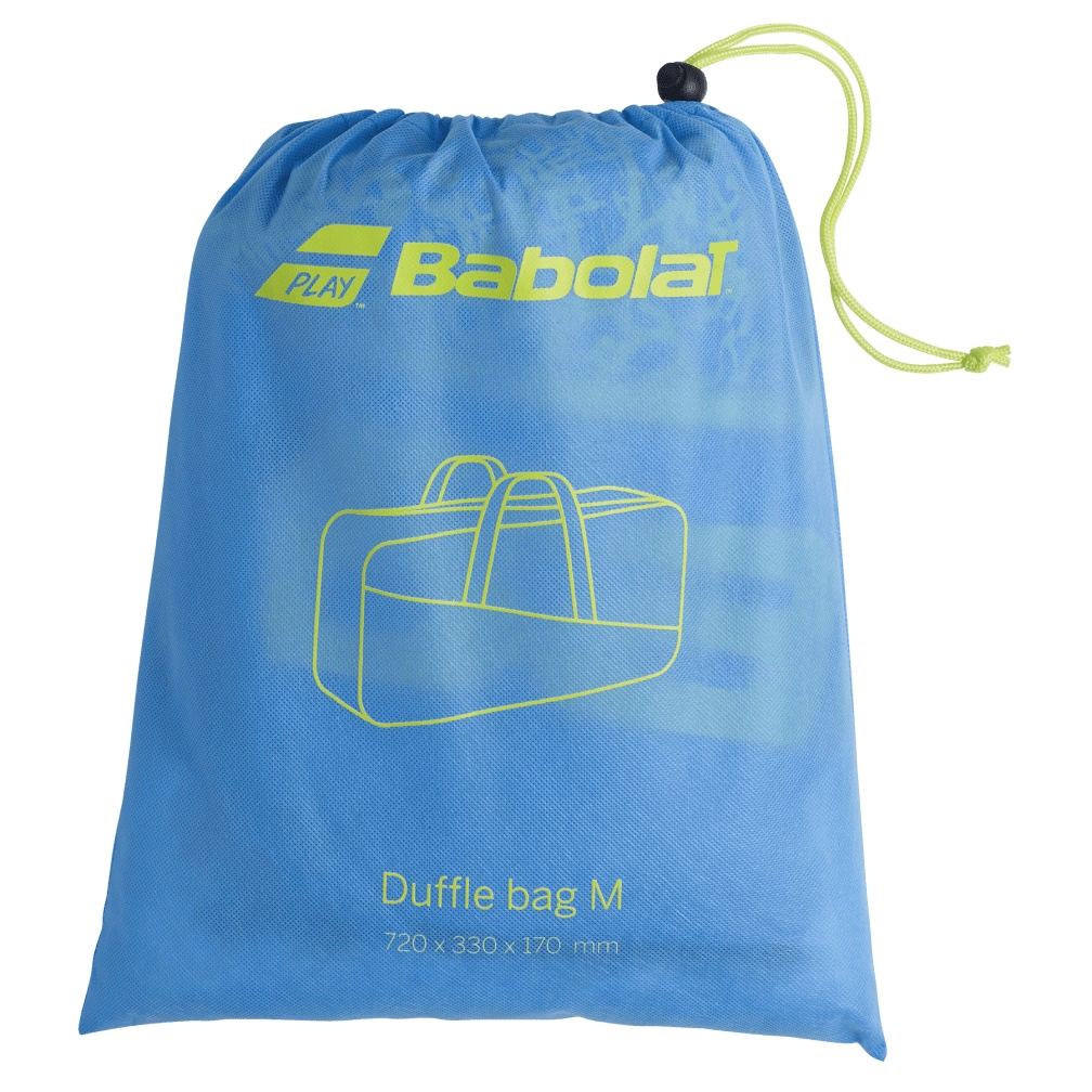 Raqueteira Babolat Duffle M Classic - Amarela e Azul  - REAL ESPORTE