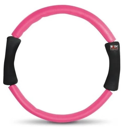 Anel de Pilates de Exercícios Body Sculpture - Rosa  - REAL ESPORTE
