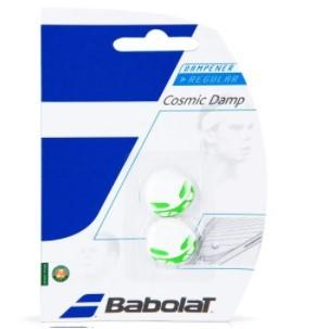 Antivibrador Babolat Cosmic Damp - Branco/Verde  - REAL ESPORTE