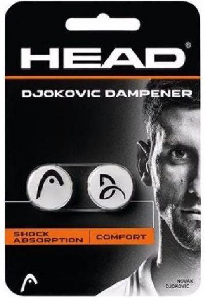 Antivibrador Head Djokovic Dampener - Branco  - REAL ESPORTE