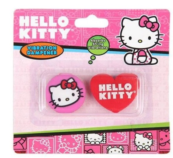 Antivibrador Hello Kitty Cartela Sortida - Rosa  - REAL ESPORTE