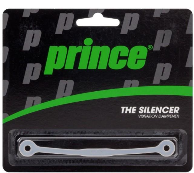 Antivibrador  Prince Silencer Dampener - Transparente   - REAL ESPORTE