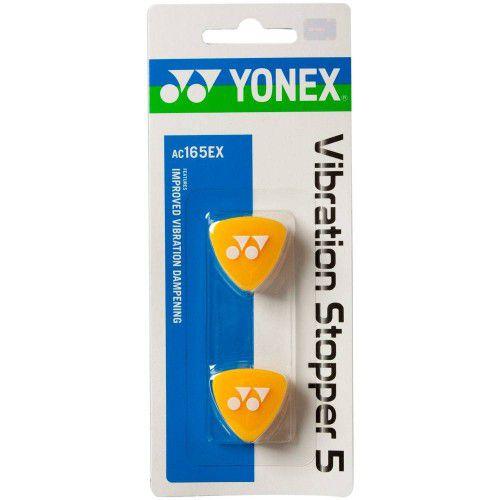 Antivibrador Yonex Vibration Stopper 5 X 2  - Amarelo  - REAL ESPORTE