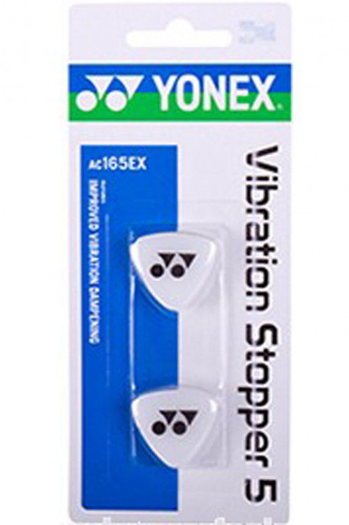 Antivibrador Yonex Vibration Stopper 5 X 2  - Branco  - REAL ESPORTE