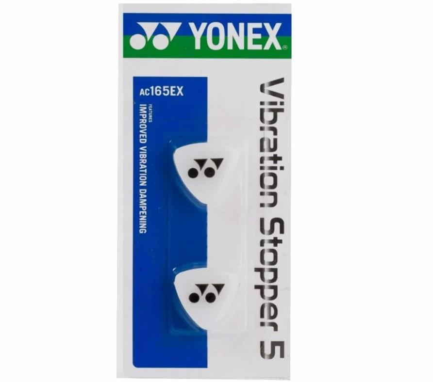 Antivibrador Yonex Vibration Stopper 5x2 -Branco  - REAL ESPORTE