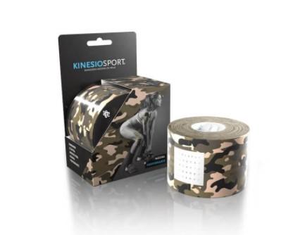 Fita Kinesio Bandagem Elástica Adesiva Rolo 5cm x 5m - Camuflada  - REAL ESPORTE