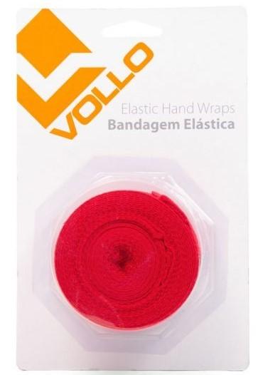 Bandagem Elástica Vollo - Vermelho  - REAL ESPORTE