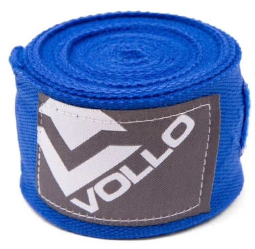Bandagem Vollo Elástica 3m  - Azul  - REAL ESPORTE