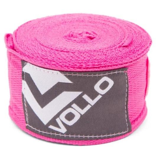 Bandagem Vollo Elástica 3m - Rosa  - REAL ESPORTE