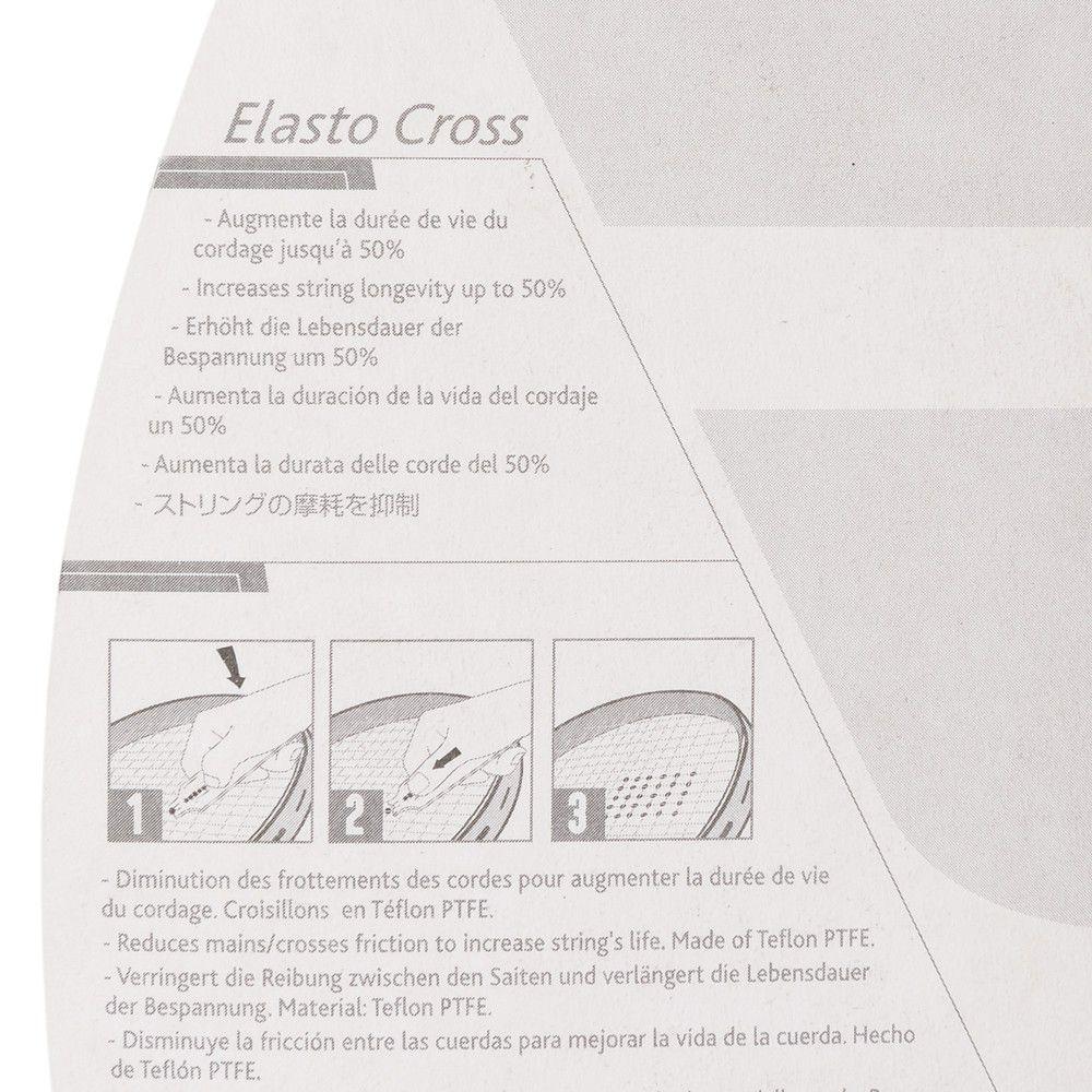 Bate Forte Babolat Elasto Cross Protetor de Corda -Vermelho  - REAL ESPORTE