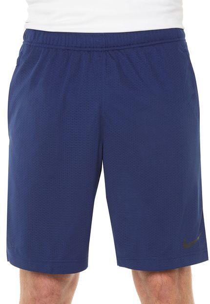 Bermuda Masculina Nike Standard Dry - Azul  - REAL ESPORTE