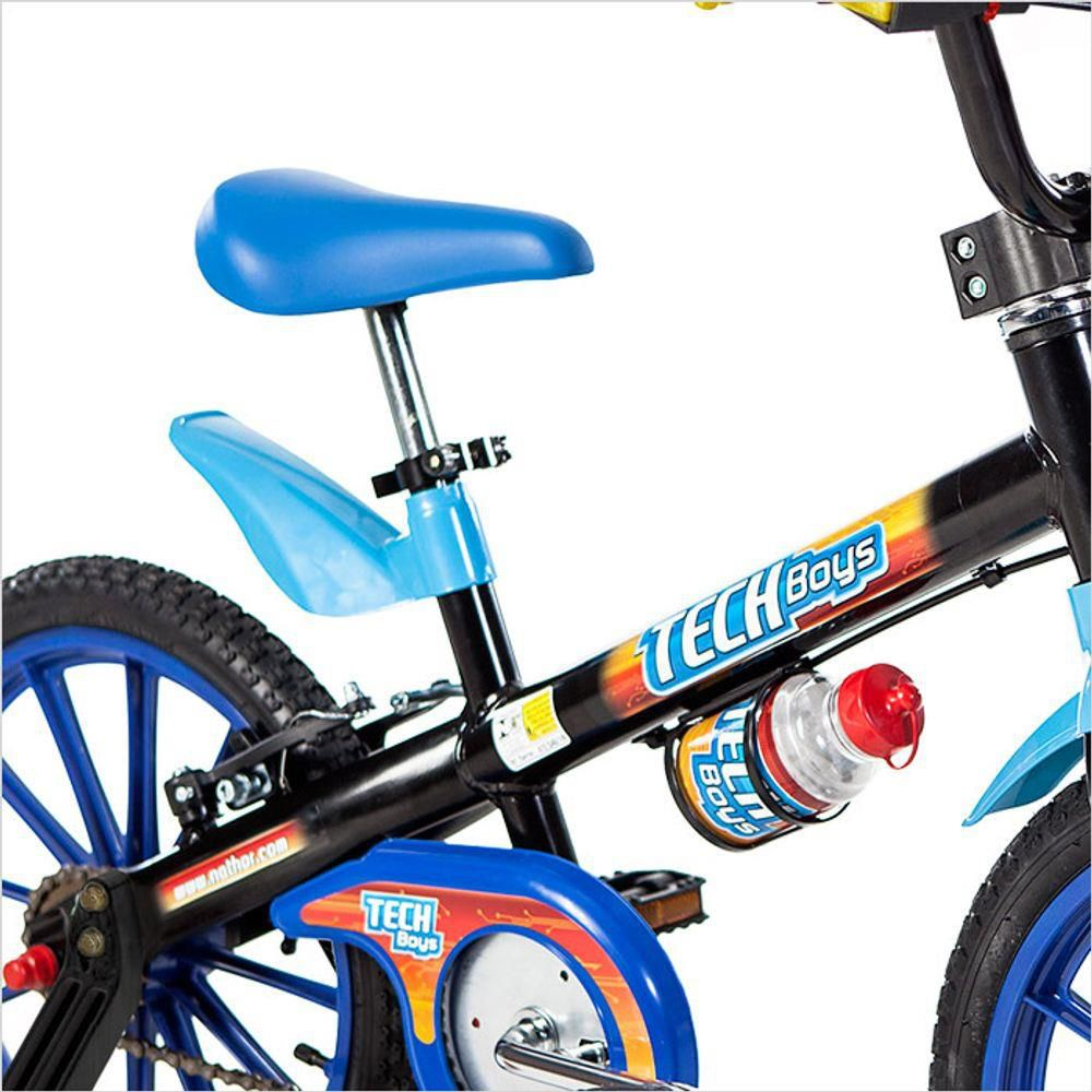 Bicicleta Aro 16 Tech Boys Nathor  - REAL ESPORTE