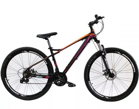 Bicicleta Aro 29 Elleven Belle Feminina 21v Freio A Disco - Tam 15 Peça de Mostruário   - REAL ESPORTE