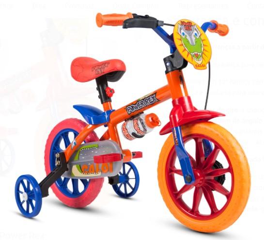 Bicicleta Caloi Aro 12 Power Rex  - REAL ESPORTE
