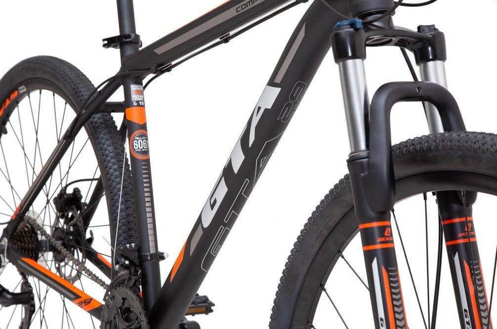 Bicicleta  GTA Comp 329 Aro 29 - Laranja  - REAL ESPORTE