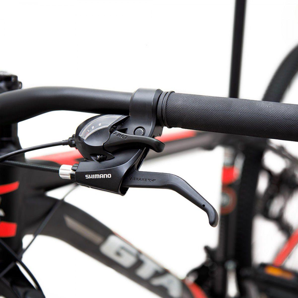 Bicicleta  GTA Comp 129 Aro 29 - Vermelho  - REAL ESPORTE
