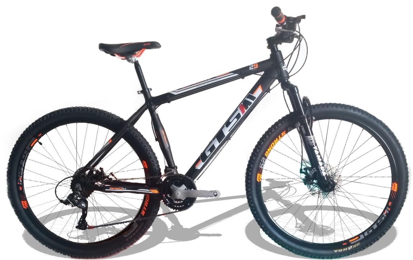 Bicicleta Gts M1 Obstáculo 2.0 Preta Laranja Aro 29   - REAL ESPORTE