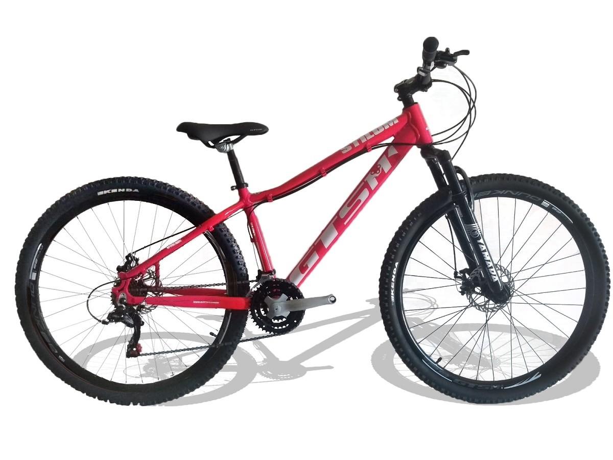 Bicicleta  GTS Stilom 2.0 Aro 29 - Rosa  - REAL ESPORTE