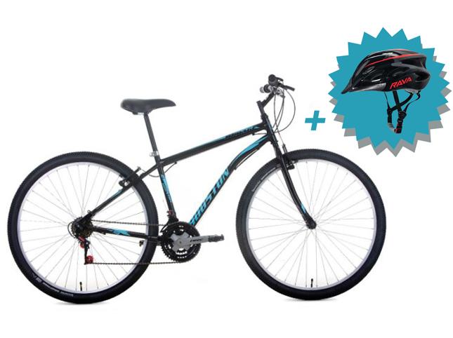 Bicicleta Houston Mirage Aro 29 Kit Shimano  Tam: M + Brinde Capacete Rava  - REAL ESPORTE
