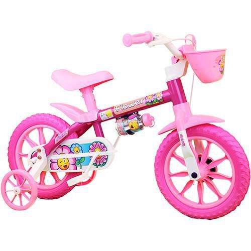 Bicicleta Nathor Aro 12 Flower  - REAL ESPORTE