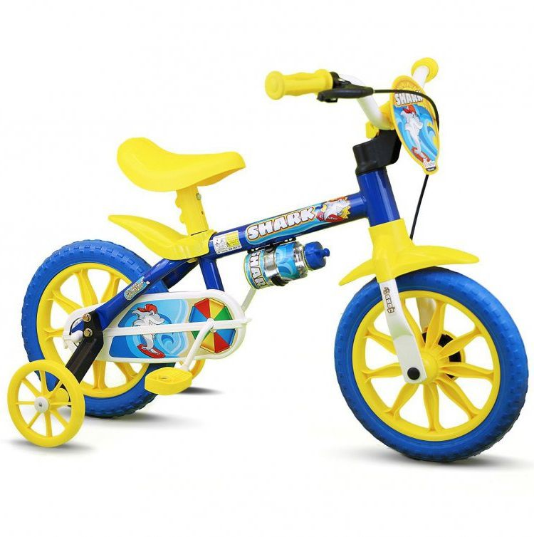 Bicicleta Nathor Aro 12 Shark  - REAL ESPORTE