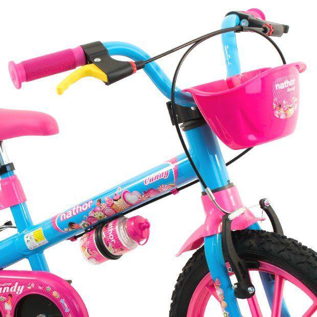 Bicicleta Nathor Aro 16 Candy  - REAL ESPORTE