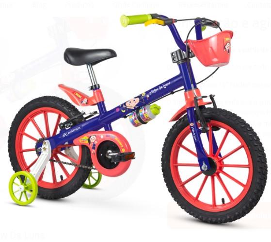 Bicicleta Nathor Aro 16 Show da Luna  - REAL ESPORTE