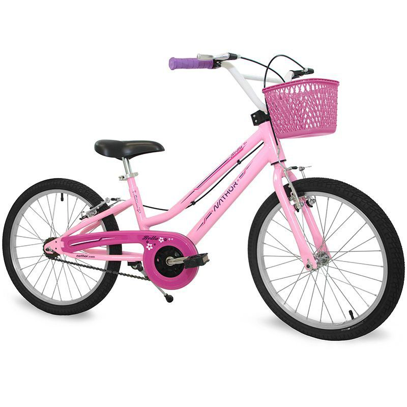Bicicleta Nathor ARO 20 Feminina Bella  - REAL ESPORTE