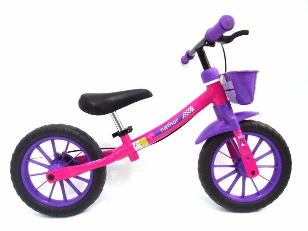 Bicicleta Nathor Balance Bike  - REAL ESPORTE