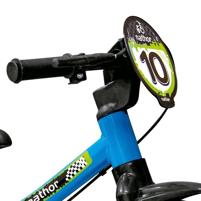 Bicicleta Nathor Balance Bike - Azul  - REAL ESPORTE