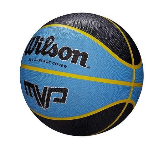 Bola de Basquete Wilson MVP All Surface Cover- Azul   - REAL ESPORTE