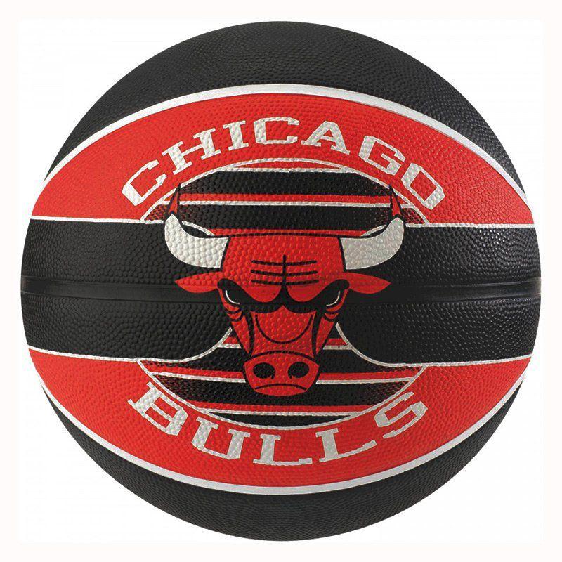 Bola de Basquete Spalding NBA Chicago Bulls  - REAL ESPORTE
