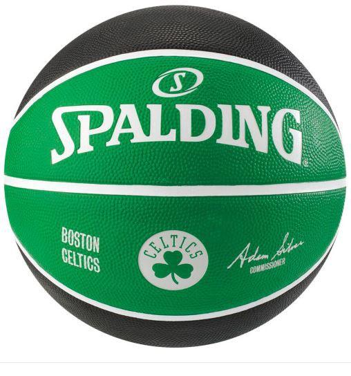 Bola de Basquete Spalding NBA Time Boston Celtics - Preto e Verde  - REAL ESPORTE