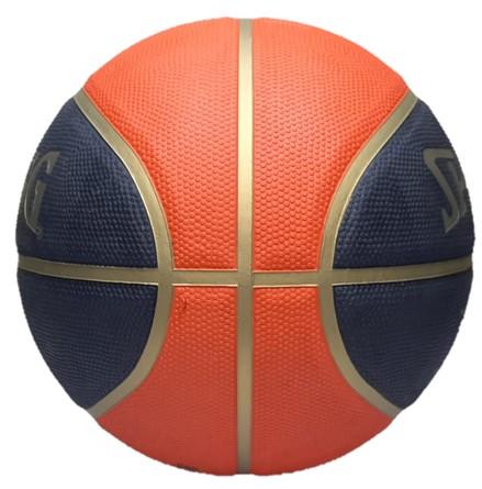 Bola de Basquete Spalding TF-50 CBB - Azul Marinho/Laranja  - REAL ESPORTE