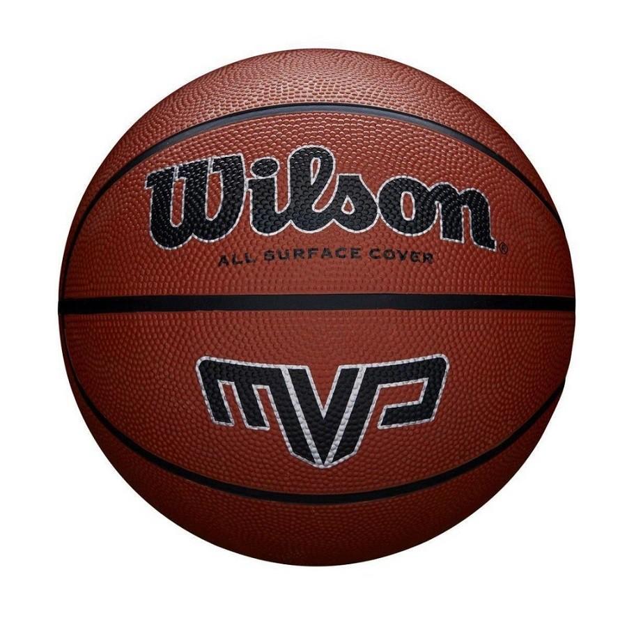 Bola de Basquete Wilson MVP All Surface Cover Vermelho  - REAL ESPORTE