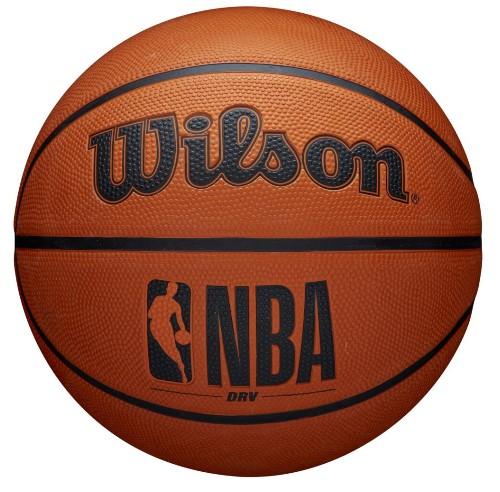 Bola de Basquete Wilson NBA DRV Mini - Laranja  - REAL ESPORTE