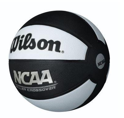 Bola de Basquete Wilson NCAA Killer Crossover - Branco e Preto  - REAL ESPORTE