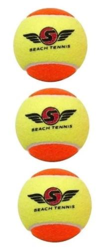 Bola de Beach Tennis Sxy Stage 2  - REAL ESPORTE